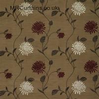 Plum curtain fabric material