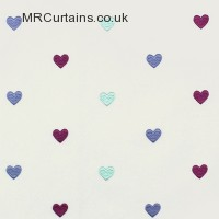 Berry curtain fabric material