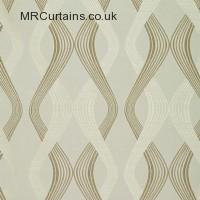 Cream curtain fabric material