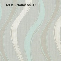 Aqua curtain fabric material