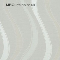 Cream curtain fabric material