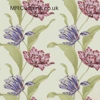 Fuchsia curtain fabric material