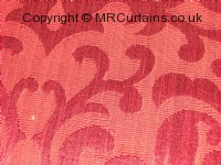 Raspberry curtain fabric material