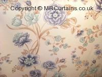 Sky curtain fabric material