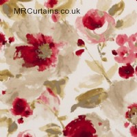 Chintz curtain fabric material