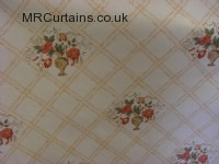 Terracotta curtain fabric material