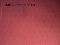Rose curtain fabric material