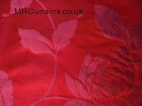 Cherry curtain fabric material