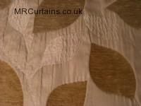 Natural curtain fabric material