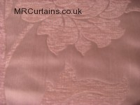 Ivory curtain fabric material