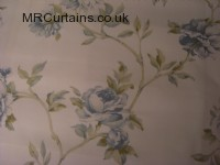 Eggshell curtain fabric material