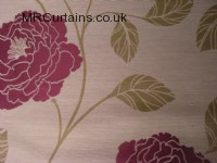 Sorbet curtain fabric material