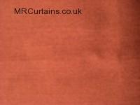 Bronze curtain fabric material