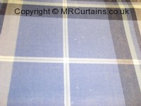 Bluebell curtain fabric material