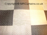 Noire curtain fabric material