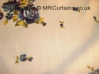 Heliotrope curtain fabric material