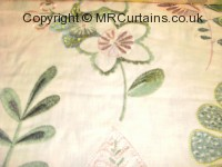 Peppermint curtain fabric material