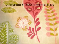 Sage curtain fabric material