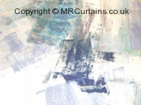 Sapphire curtain fabric material