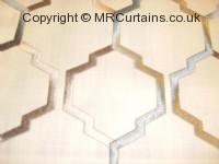Duckegg curtain fabric material