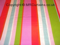 Tropical curtain fabric material
