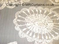 Dove curtain fabric material