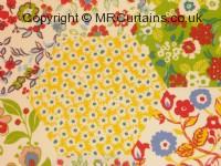 Summer curtain fabric material