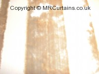 Parchment curtain fabric material