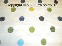 Citrus curtain fabric material