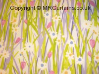Lavender curtain fabric material