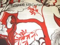 Poppy curtain fabric material