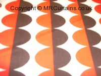 Poppy curtain fabric material