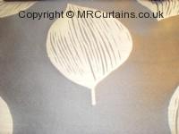 Anthracite curtain fabric material