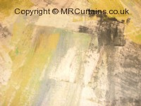 Autumn curtain fabric material