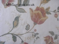 Natural curtain fabric material