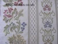 Chintz curtain fabric material