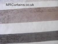 Beige curtain fabric material