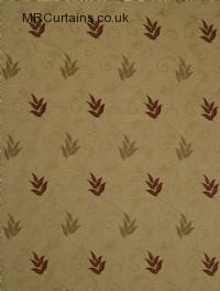 Caramel curtain fabric material