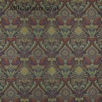 Jewel curtain fabric material