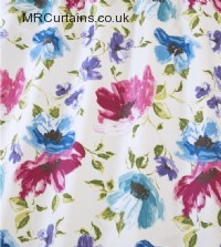 In Bloom curtain fabric