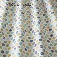 Pistachio curtain fabric material