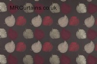 Ruby curtain fabric material