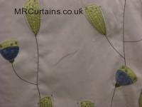 Ultramarine curtain fabric material
