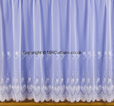 1318 (Embroidered Voile) net curtain