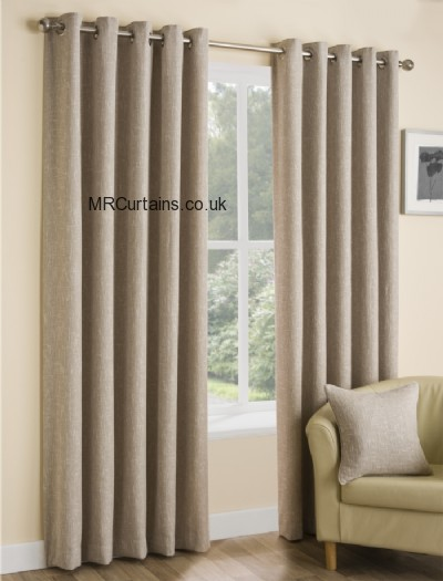 Huxley (Eyelet Heading) ready made curtain