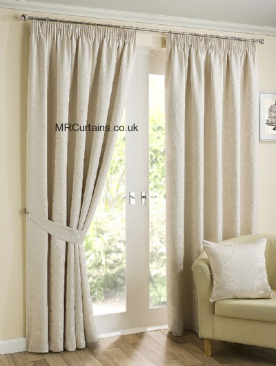 Elizabeth (Pencil Pleat) ready made curtain