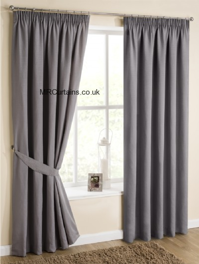 Dove Grey curtain