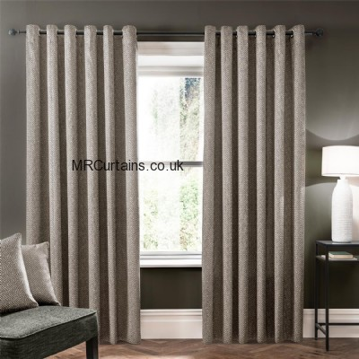 Verona (Eyelet Heading) ready made curtain