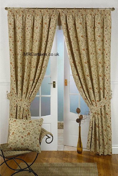 Mansfield (Pencil Pleat) ready made curtain