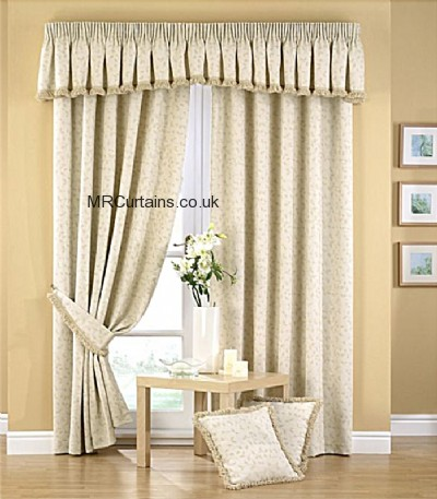 Folia (Pencil Pleat) ready made curtain